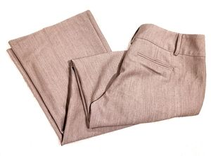Joe B Beige Wide Leg Dress Pants